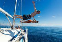 estate in barca a vela