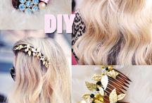 Akcesoria do włosów - DIY