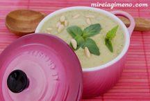 ♥ Sopas y cremas / soups ♥ vegan energetics macrobiotic raw glutenfree / www.mireiagimeno.com