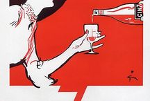 """Vintage """"drink  travel & cigarettes """""""