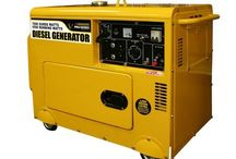 Portable Diesel and Natural Gas Power Generators for Home Backup Use Reviews 2015 / by JD_Sanders