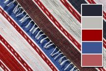 Koberečky z Oravy - klasický vzor / Orava Rag Rugs Classic Pattern