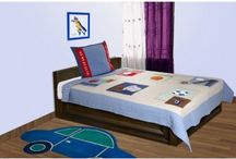 Kids Room Bed Sheets / Buy Best Kids Room Bed sheets online with unique design and absolutely skin friendly material.