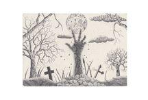 Szkice (tusz) / Sketchs (drwaing ink) - by Wojciech Baran - Adalbert.