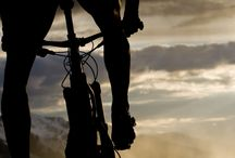 biking in Ötztal valley / Biken