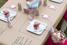 Kids table settings