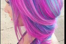 Bright hair / Hair colours
