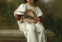 Art Painter Elizabeth Jane Gardner Bouguerau