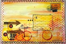 Mail Art / Mail art - make something special to send your art through the U.S. postal system and make someone's day. / by Marjie Kemper Designs