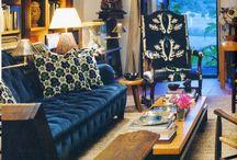 Interiors - Velvet Royal Sofa's
