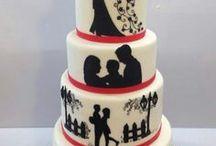 gâteau couple