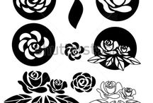 Stencil pattern
