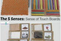 Earlybird bord thema 8 . Our senses