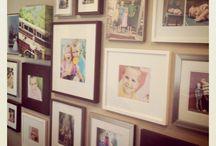 Gallery Wall ideas / by MaryAnn Perry