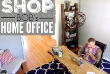 Home Office and Craft Space