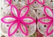 manta de flores crochet