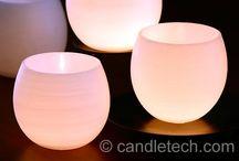 Свечи разные