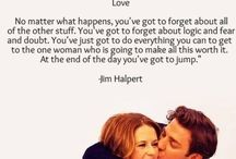 The office - Jim & Pam