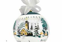 """Traditioneller Weihnachtsschmuck aus edlem Glas / Weihnachtsdekorationen und Christbaumschmuck aus Glas für festlichen Baum und für Ihr Zuhause ...   """"Ihr Weihnachten aus unseren Händen"""" ..."""