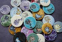 botones de cerámica