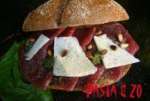 Lunches - Pasta & Zo / Deze heerlijke Italiaanse broodjes voor de lunch kunt u bij Pasta & Zo bestellen.