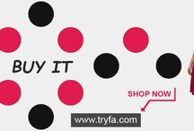 Best Fashion Store online in India / TRYFA is one the best fashion store in India. Huge collection of latest new fashionable clothes for ladies at lowest price.