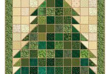 Christmas Quilting / by Cathy Robertson