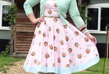 Novelty Prints / Novelty print dresses, skirts, and fabrics