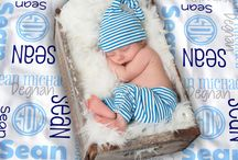 Customer Photos - Baby Blankets / Adorable babies showing off their Dreamy Daisy blankets!