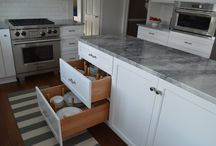 Kitchen Storage and Organization / For the latest in organizing your new or remodeled kitchen, work with an experienced cabinet specifier and kitchen designer.