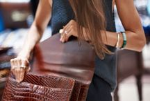 Bag, clutch and details