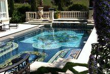 Swimming Pool Tile + Mosaics