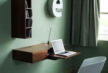 Skrivebord / Skrivebord til iMac i stua:)