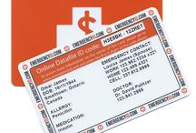 Medical ID Wallet Cards and ID Tags / Medical ID Wallet Cards and ID Tags