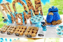 Party / Playdate themed ideas - Cookie Monster