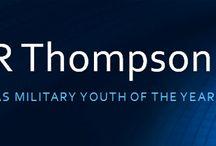 Xavier Thompson  / My resume (Pinterest version)