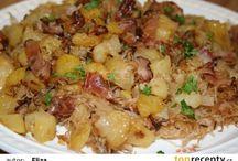 zemiakové jedlá