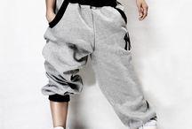Dance/workout clothes