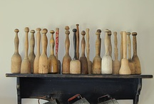 Wooden mashers, bowls & spoons / My idea of deco