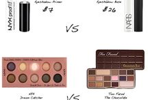 Makeup dupes / Drug store makeup dupes for high end products