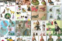Sewing Patterns Animals