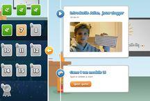 Ambrasoft Typen / Afbeeldingen uit de typecursus voor kinderen: Ambrasoft Typen School en Ambrasoft Typen voor kinderen - met Julian Ras