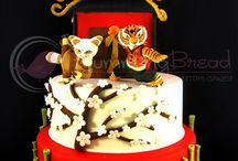 Kung Fu Panda / Agent Oso / Panda Cakes
