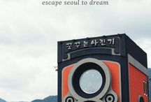 Korea Dreams / This is a Dream board for all your Korea tips and tricks for being a great traveler and explorer! Quick and easy guides, great photo spots, routes, they are all welcome. Get inspiration from other pins and see places you never thought of!