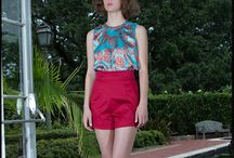 Suzanne Lay - The Big Easy - New Orleans / Our Spring 2014 collection shot in the botanical gardens in NOLA