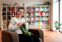 Our yarn store Galanterie Malovanka, Prague / Store closed. Our e-shop fler.cz/ galanterie-malovanka http://www.galanteriemalovanka.cz/