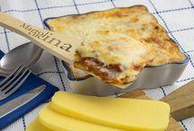Cucina - polenta / ricette varie con polenta di mais e di altre farine