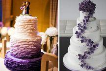 Hochzeitstorte und Kuchen