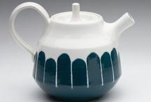 Ceramics. Tins & Teapots.