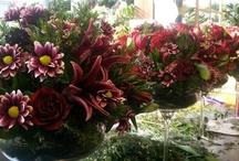 Wedding - Flower centrepieces